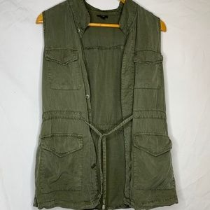 Army Green Casual Vest